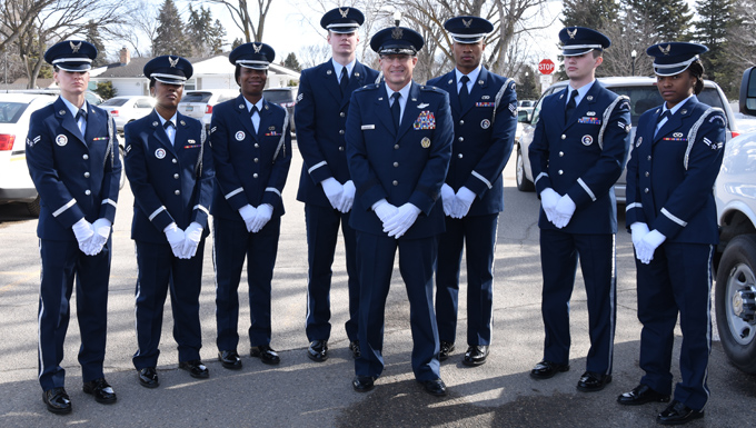 Grand Forks Air Force Base Honor Guard